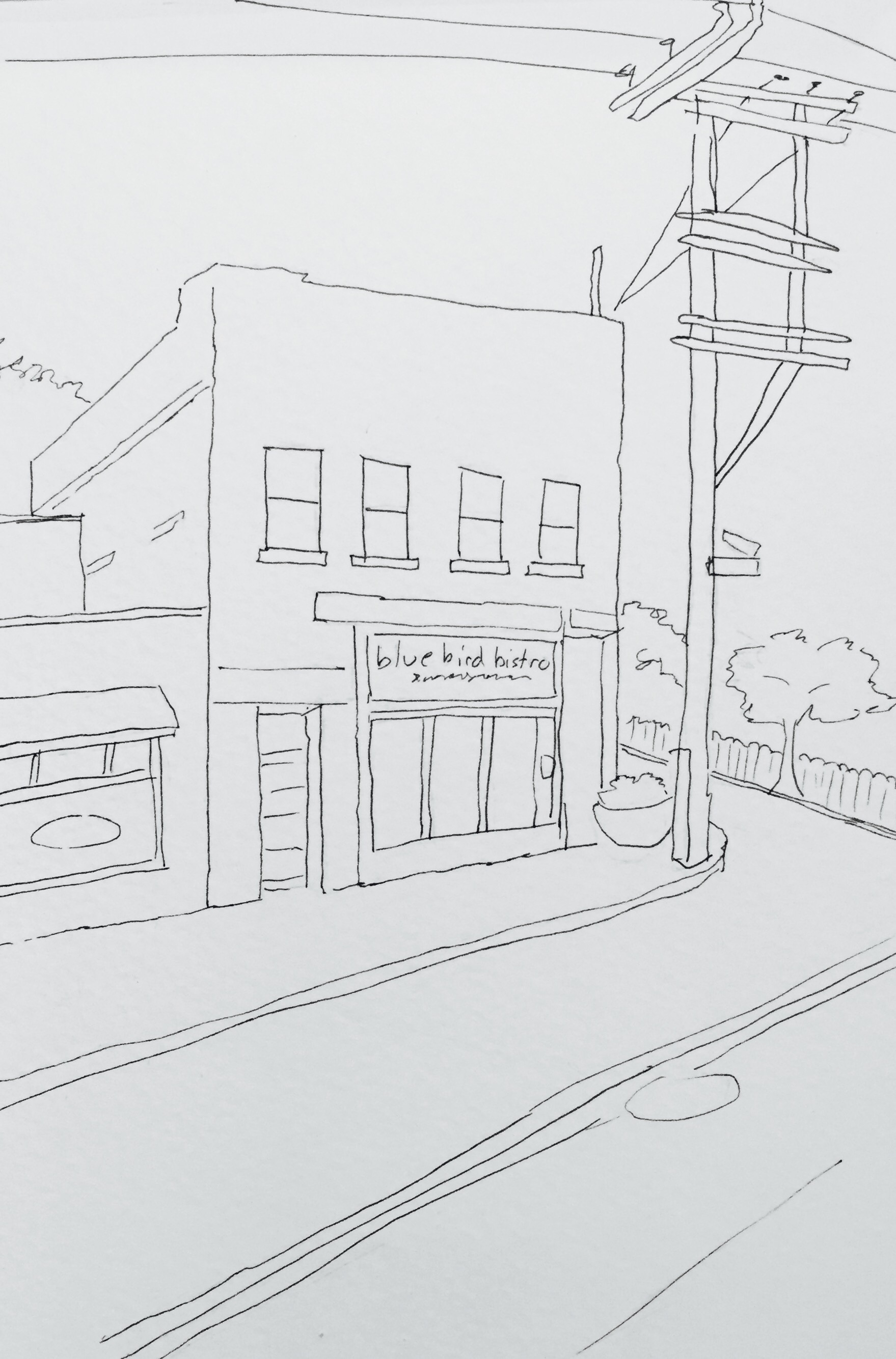 Bistro Sketch