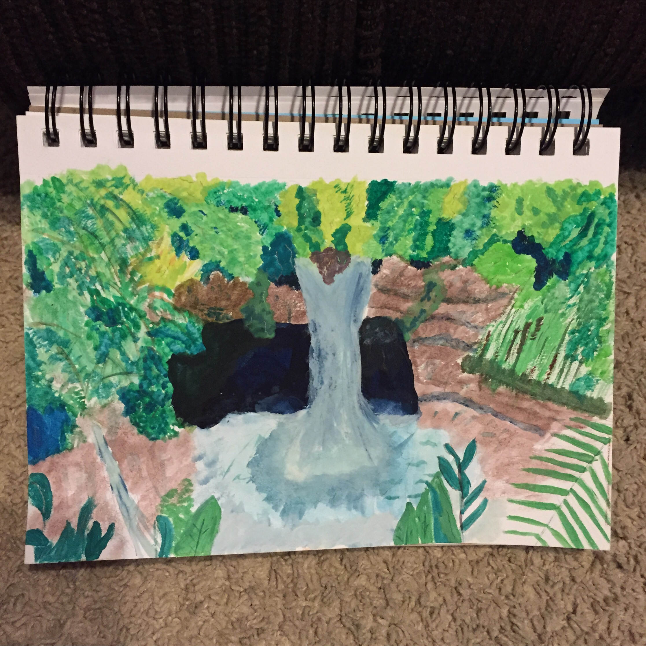 GUEST DOODLEWASH – Foliage of the Falls