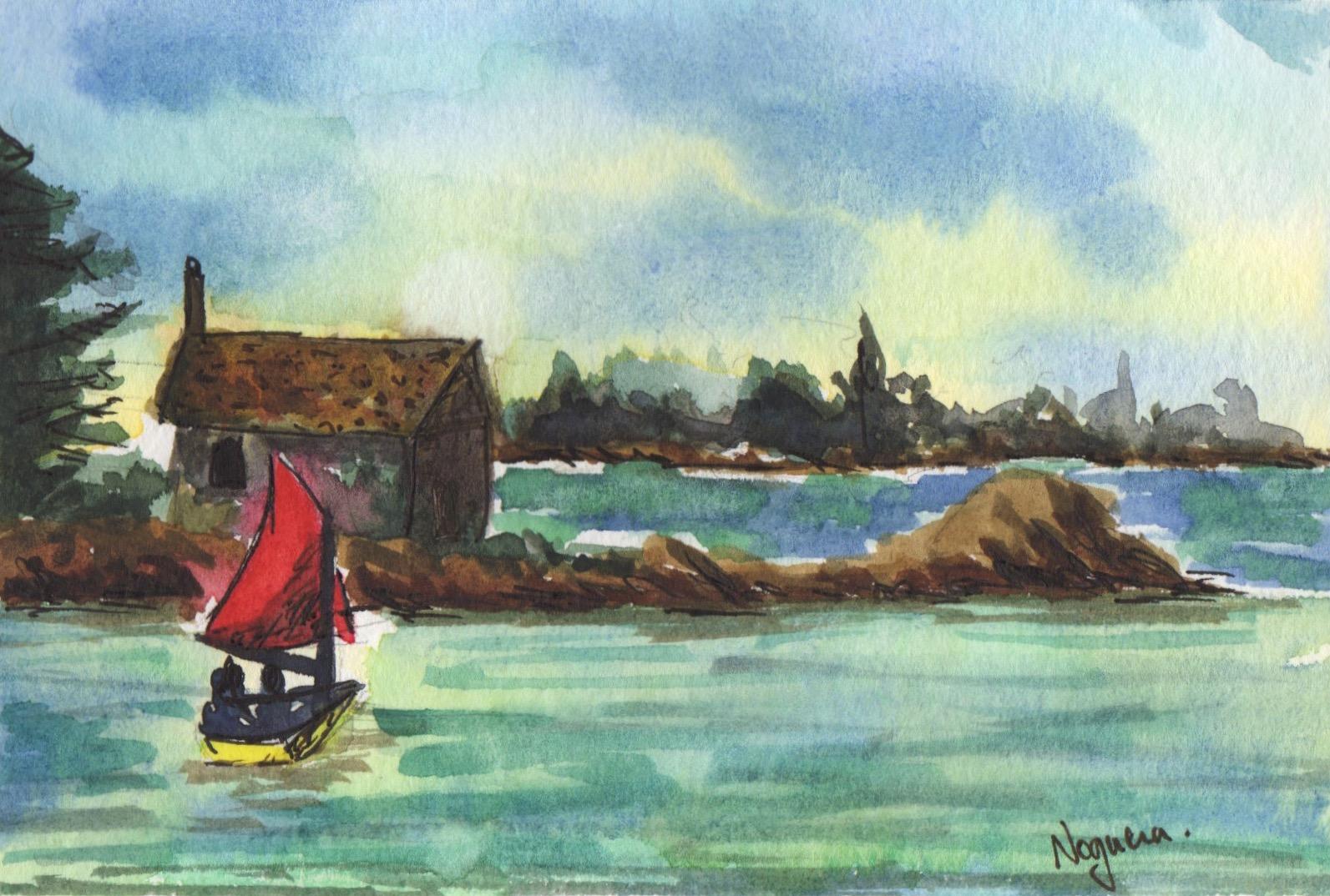 GUEST DOODLEWASH: Little Boat