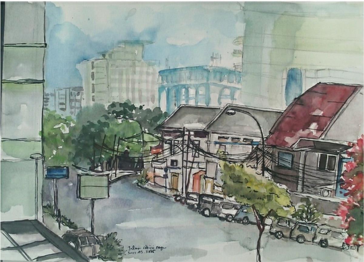 Cikini's Street, Jakarta by Sari Atika Sundari