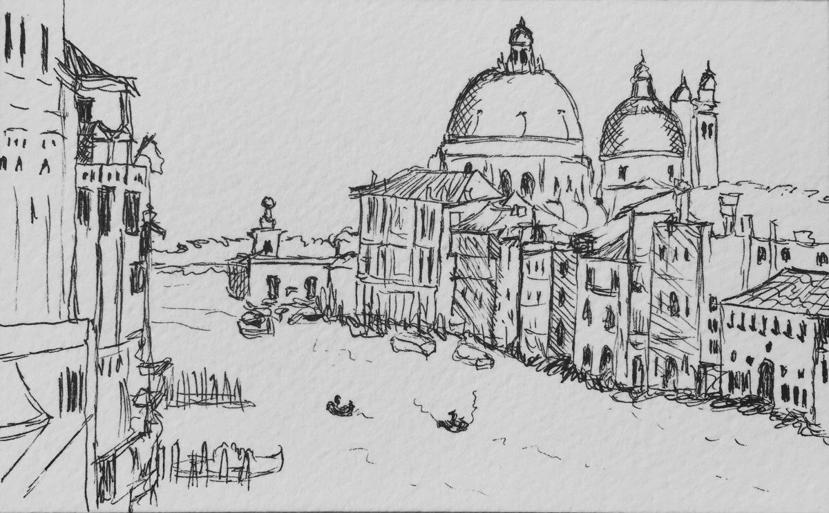 Venice, Italy Sketch