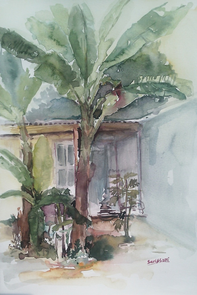 Banana Trees by Sari Atika Sundari