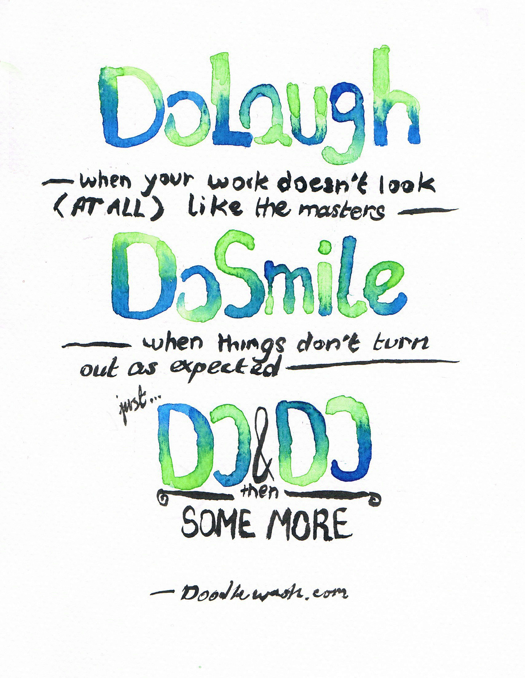Lessons In Doodlewashing: Inspiration Is Rewarding