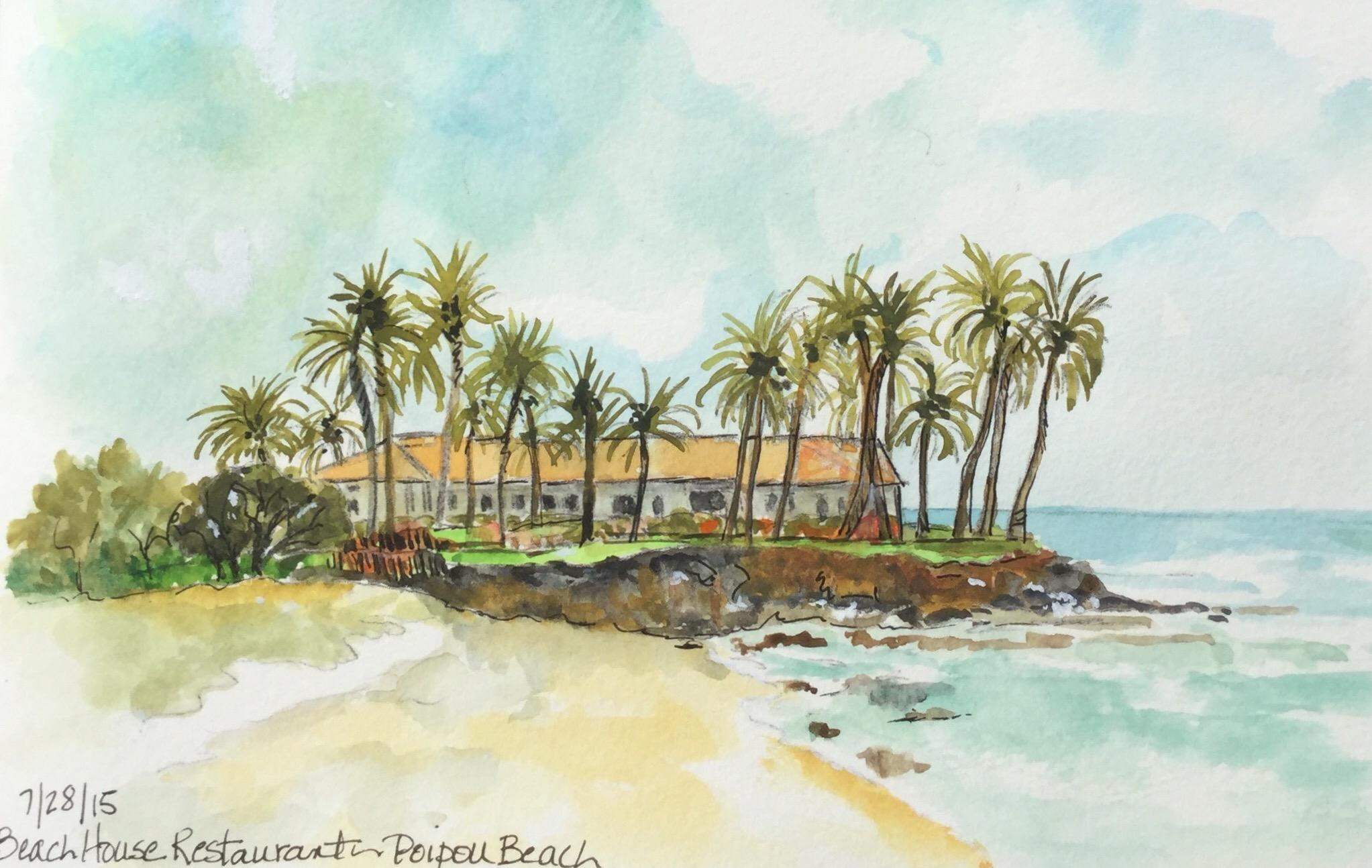 Beach House Restaurant by Carol Jurczak