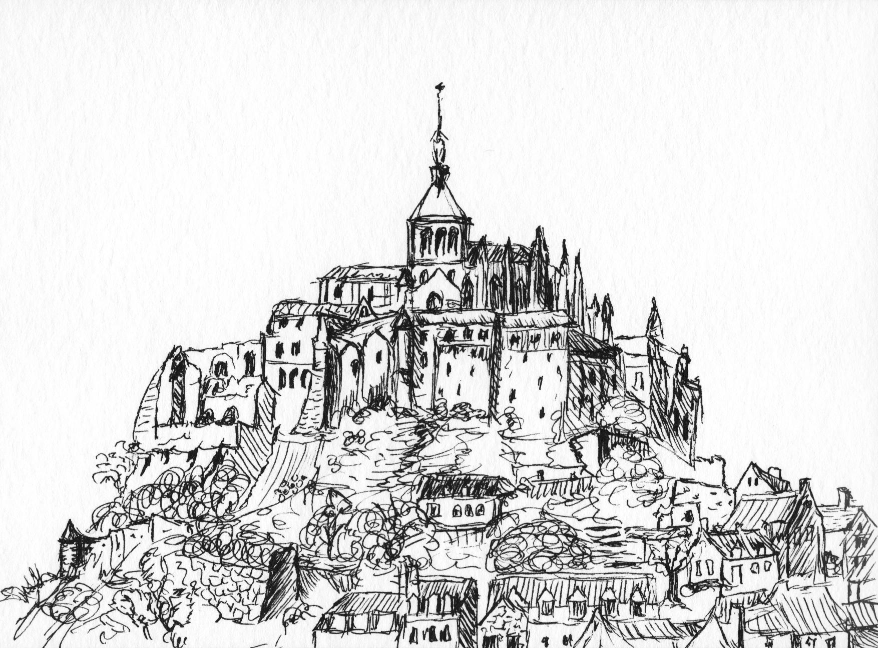 Doodling France