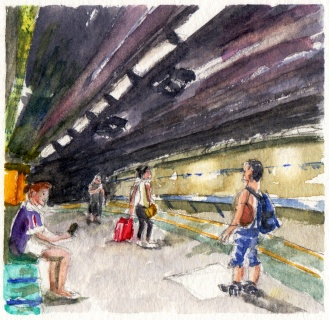 Underground People by Charlie O'Shields