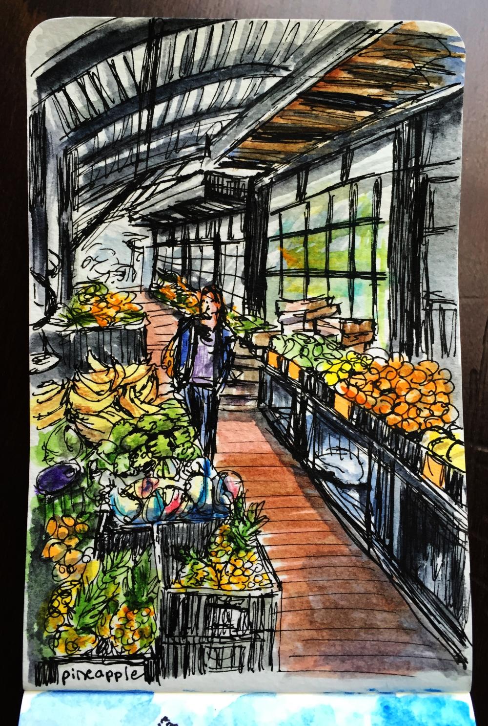 City Market by Charlie O'Shields