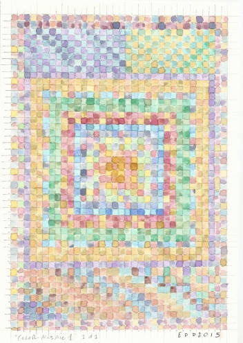 Color Mosaic 1 by Eli Dorman