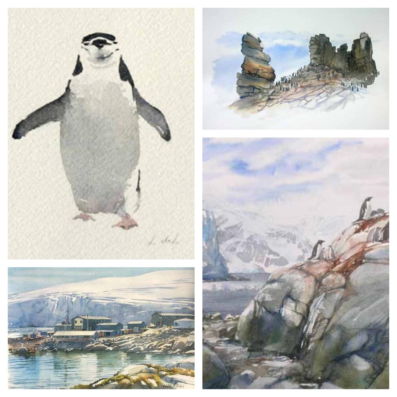 GUEST DOODLEWASH: Sketching Antarctica