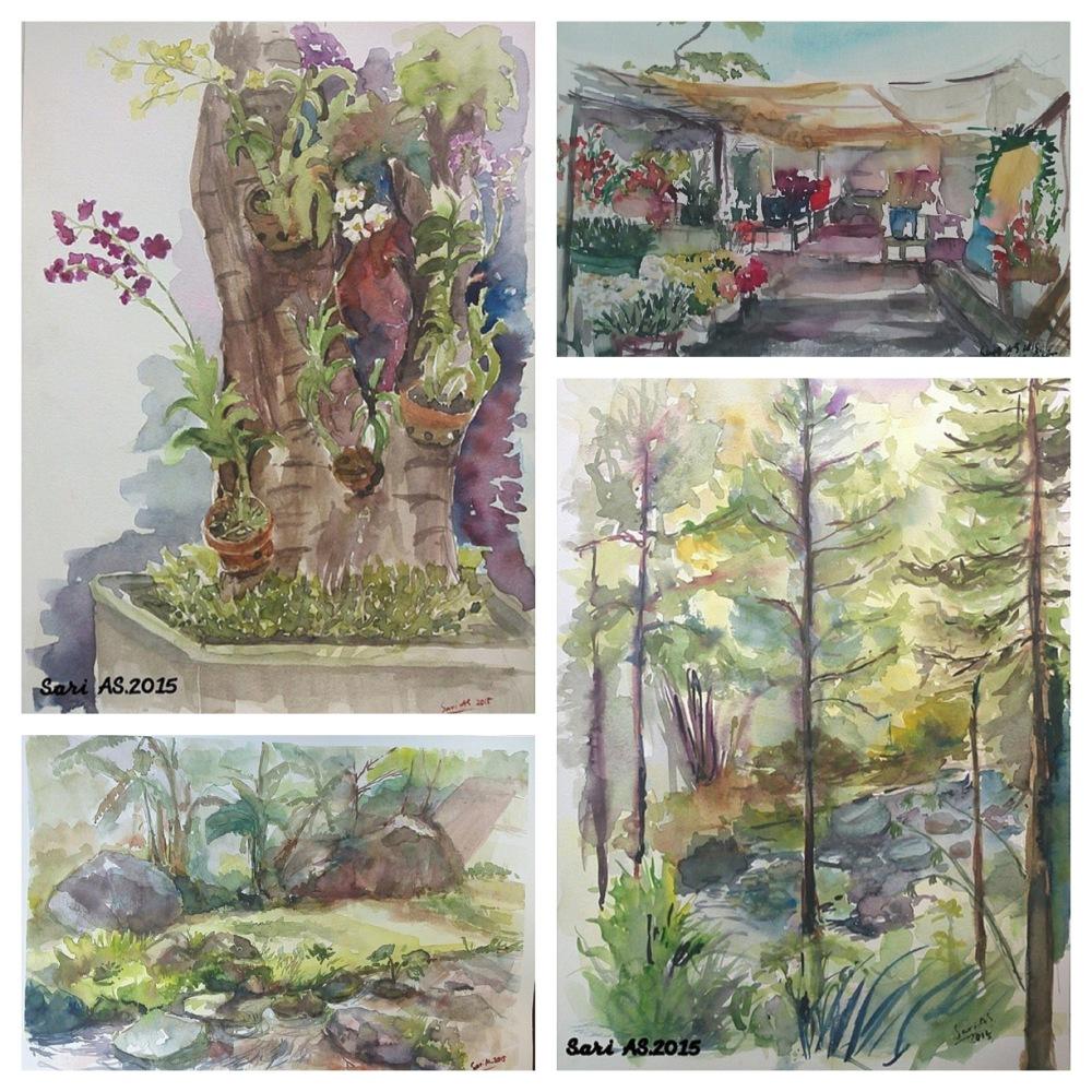 Doodlewashes by Sari Atika Sundari