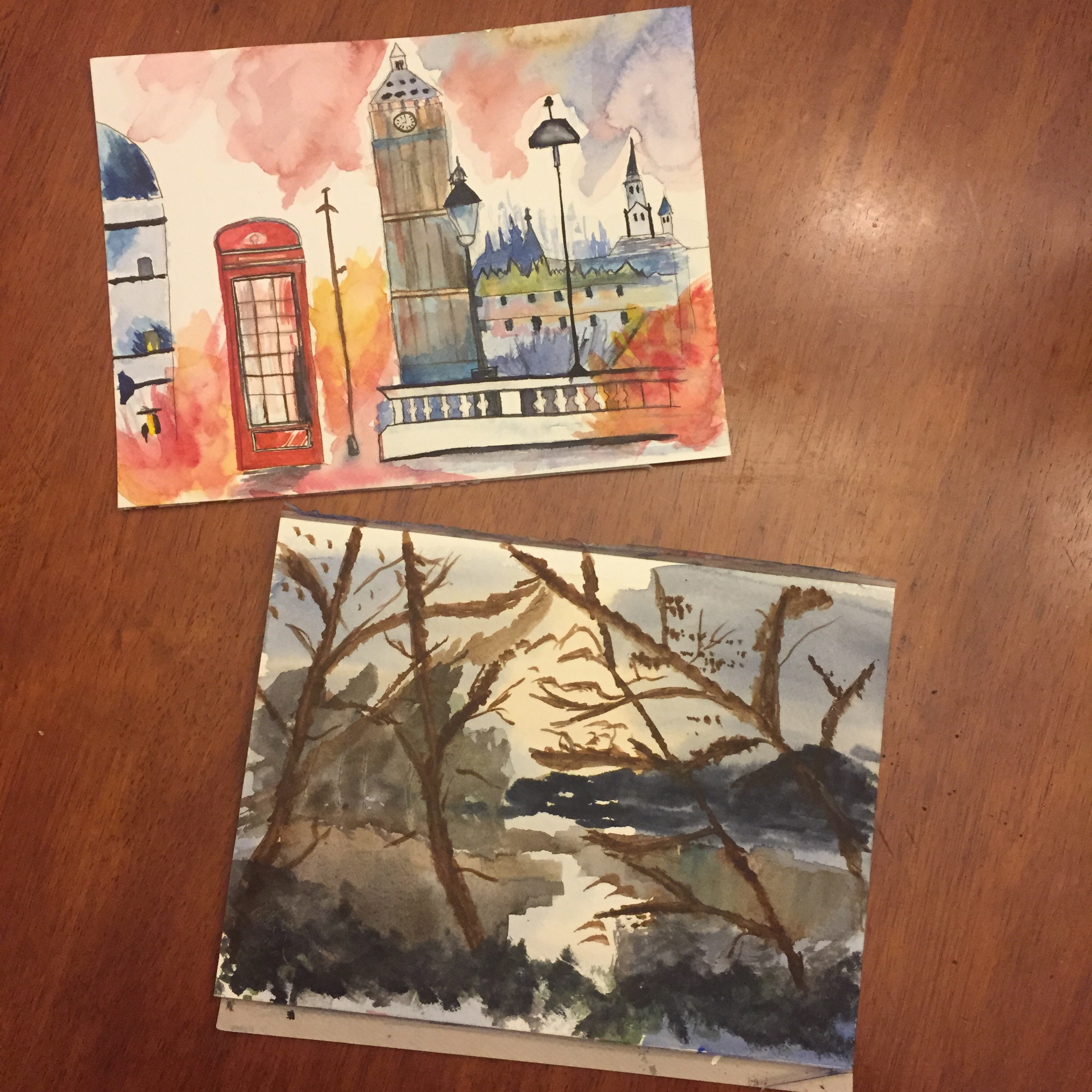 GUEST DOODLEWASH: London & Landscapes