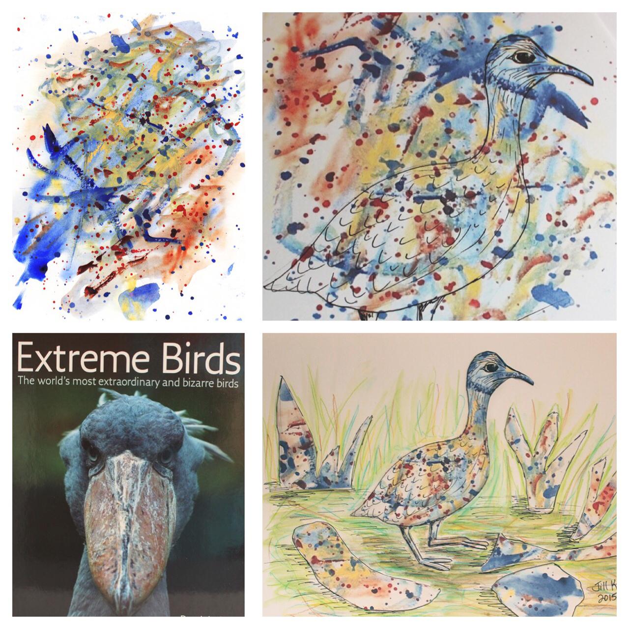 GUEST DOODLEWASH: Extreme Bird