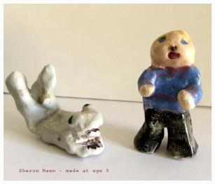 Ceramics by Sharon Mann - Age 5