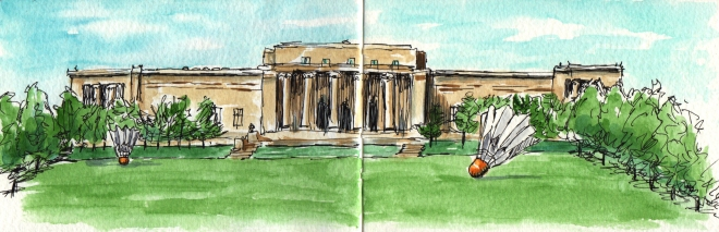 Nelson-Atkins Museum of Art by Charlie O'Shields