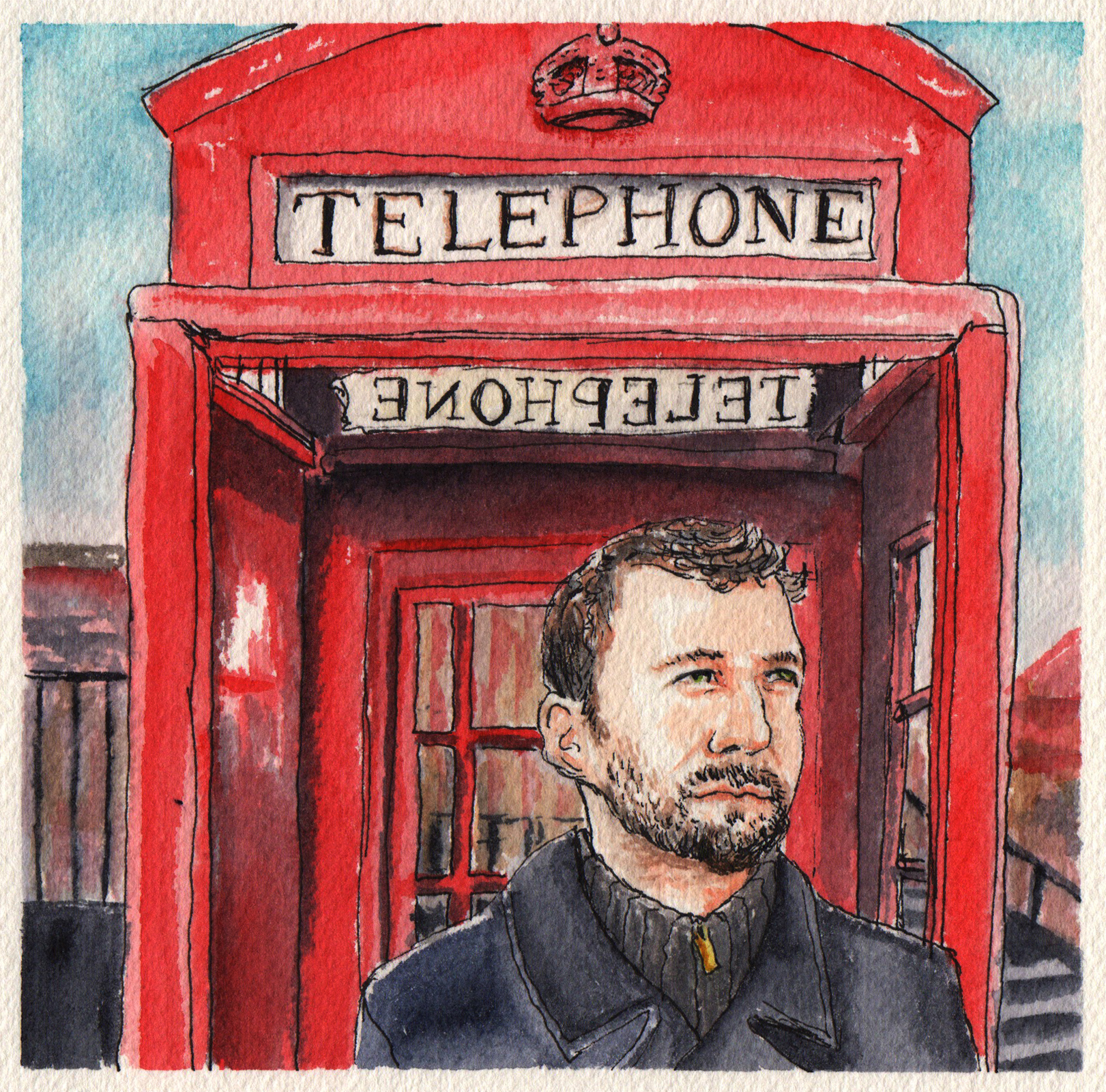 Phone Booth Portrait