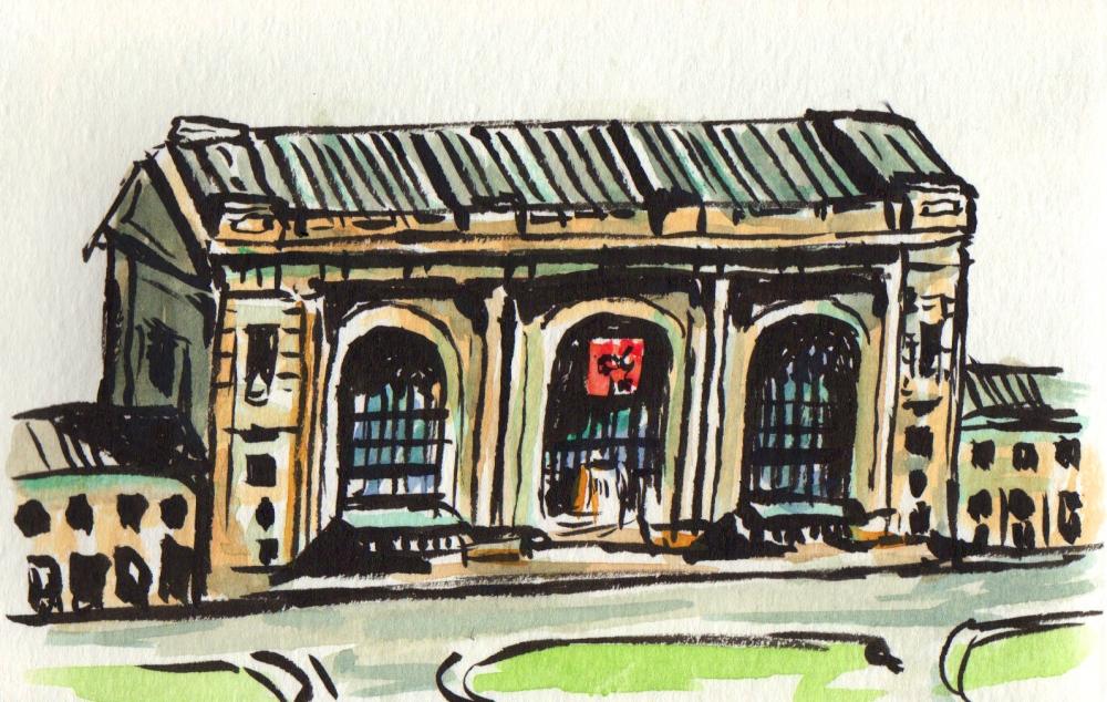 Union Station Sketch