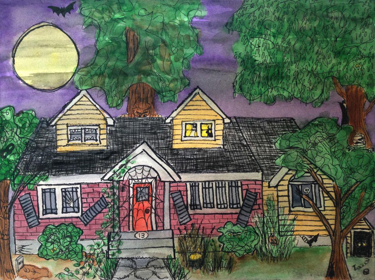 GUEST DOODLEWASH: Hidden Halloween