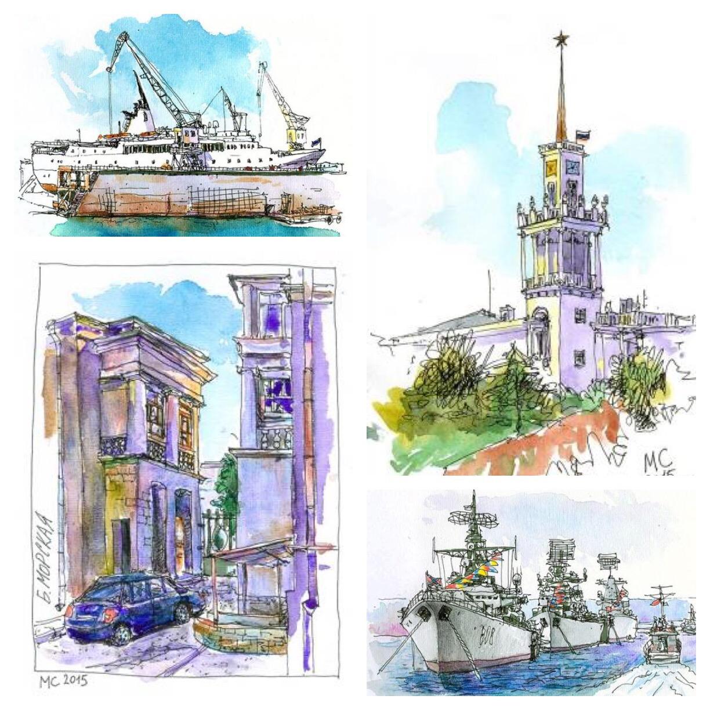 GUEST DOODLEWASH: Sketching in Sevastopol
