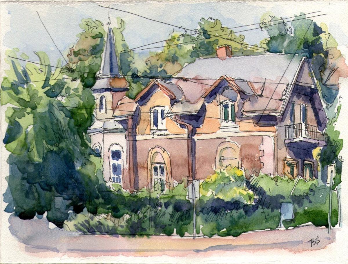 GUEST DOODLEWASH: Watch Bogdan Paint This House!