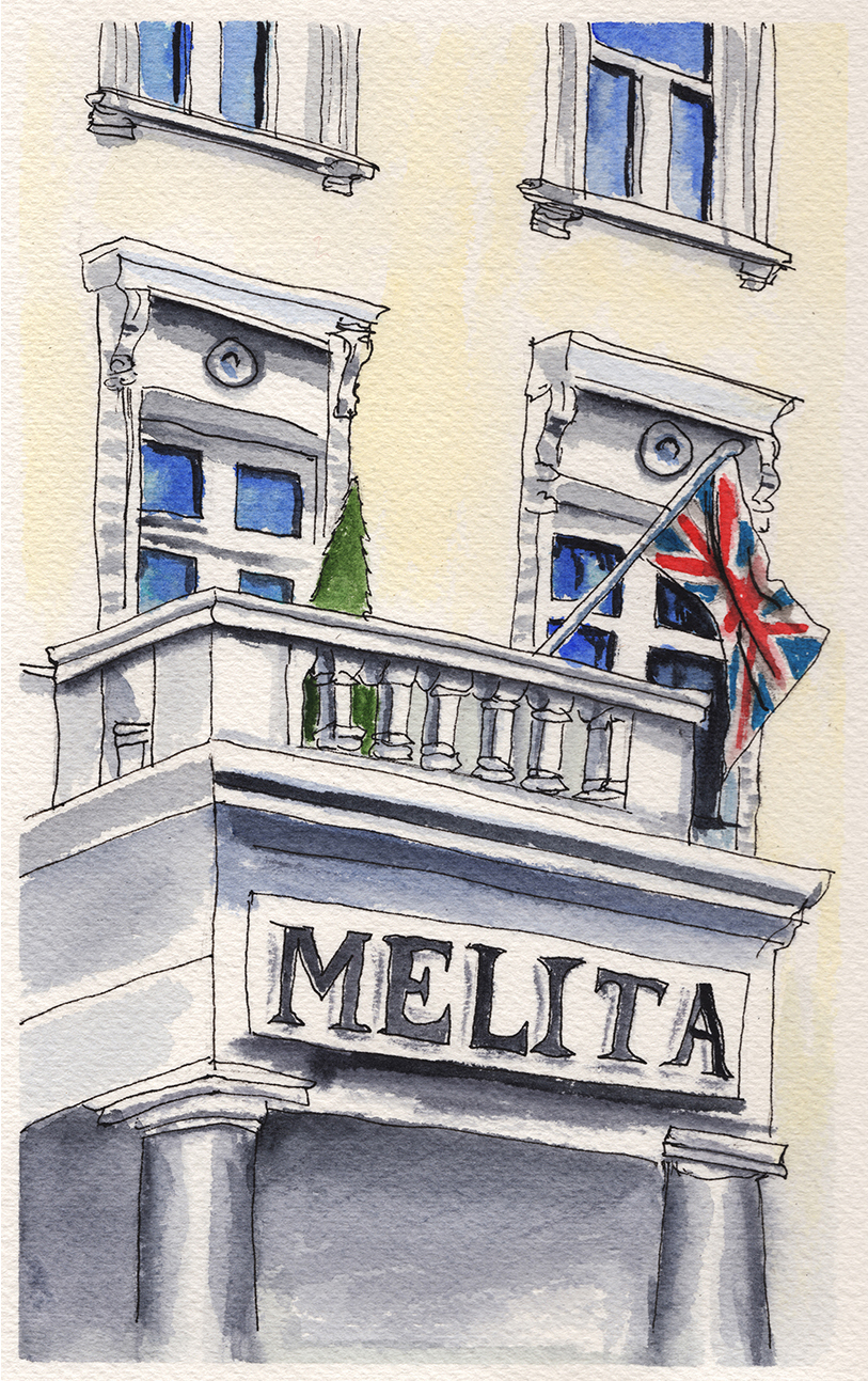 Doodlewashing The Melita in London