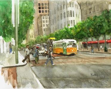 Crossing Market by Brain Bailey