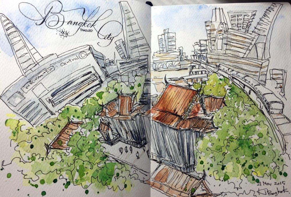 Doodlewash by Choowong Ki / ชูวงค์ กิ๊