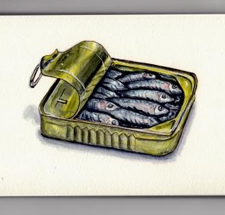 National Sardines Day by Charlie O'Shields