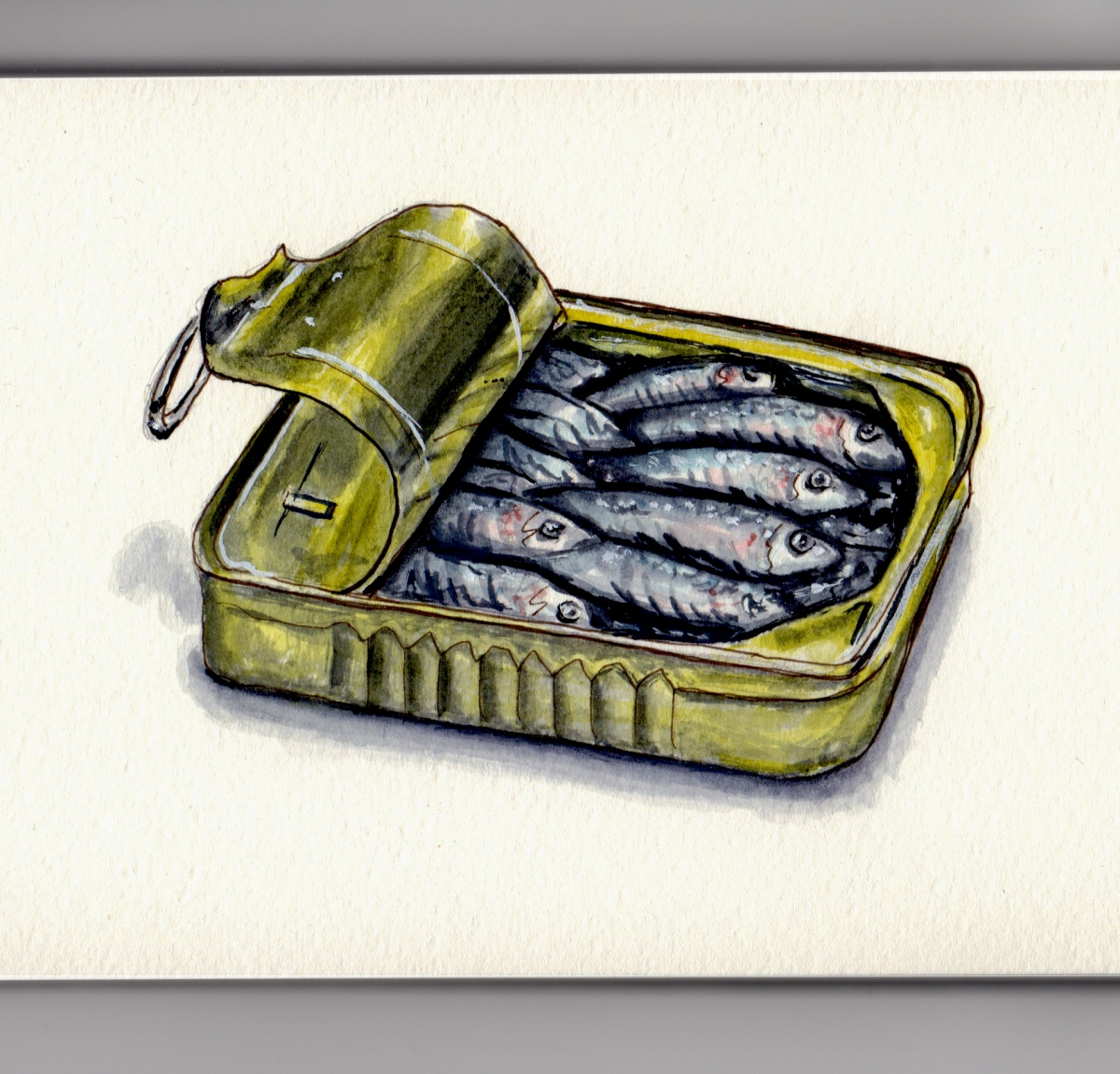 National Sardines Day by Charlie O'Shields