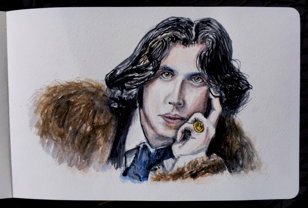 Oscar Wilde by Charlie O'Shields