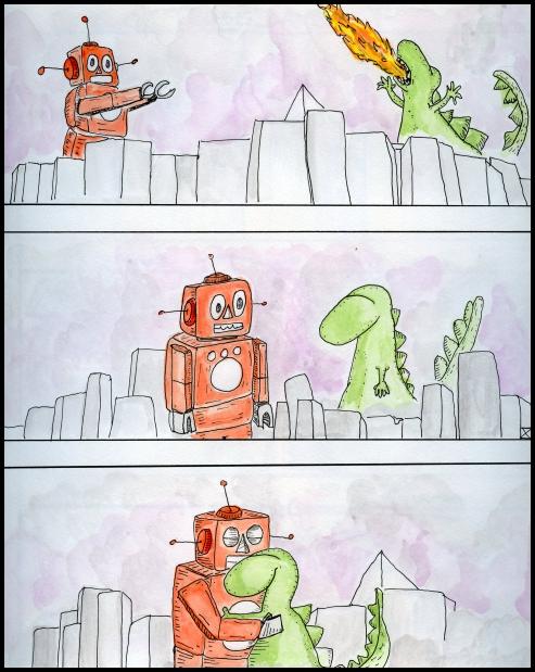 Robot Doodlewash by Zeno Vanfretti