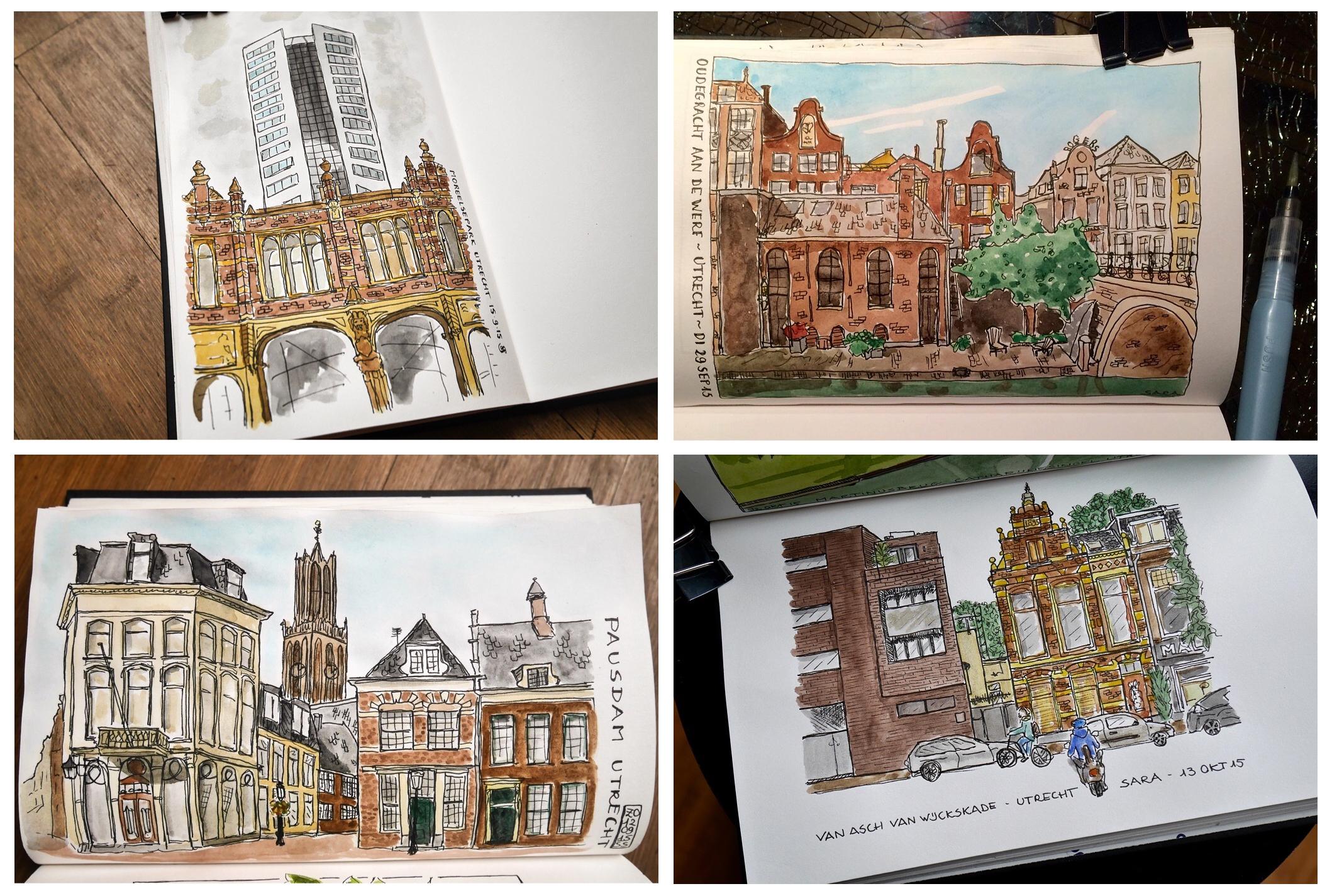 GUEST DOODLEWASH: Sketching Utrecht