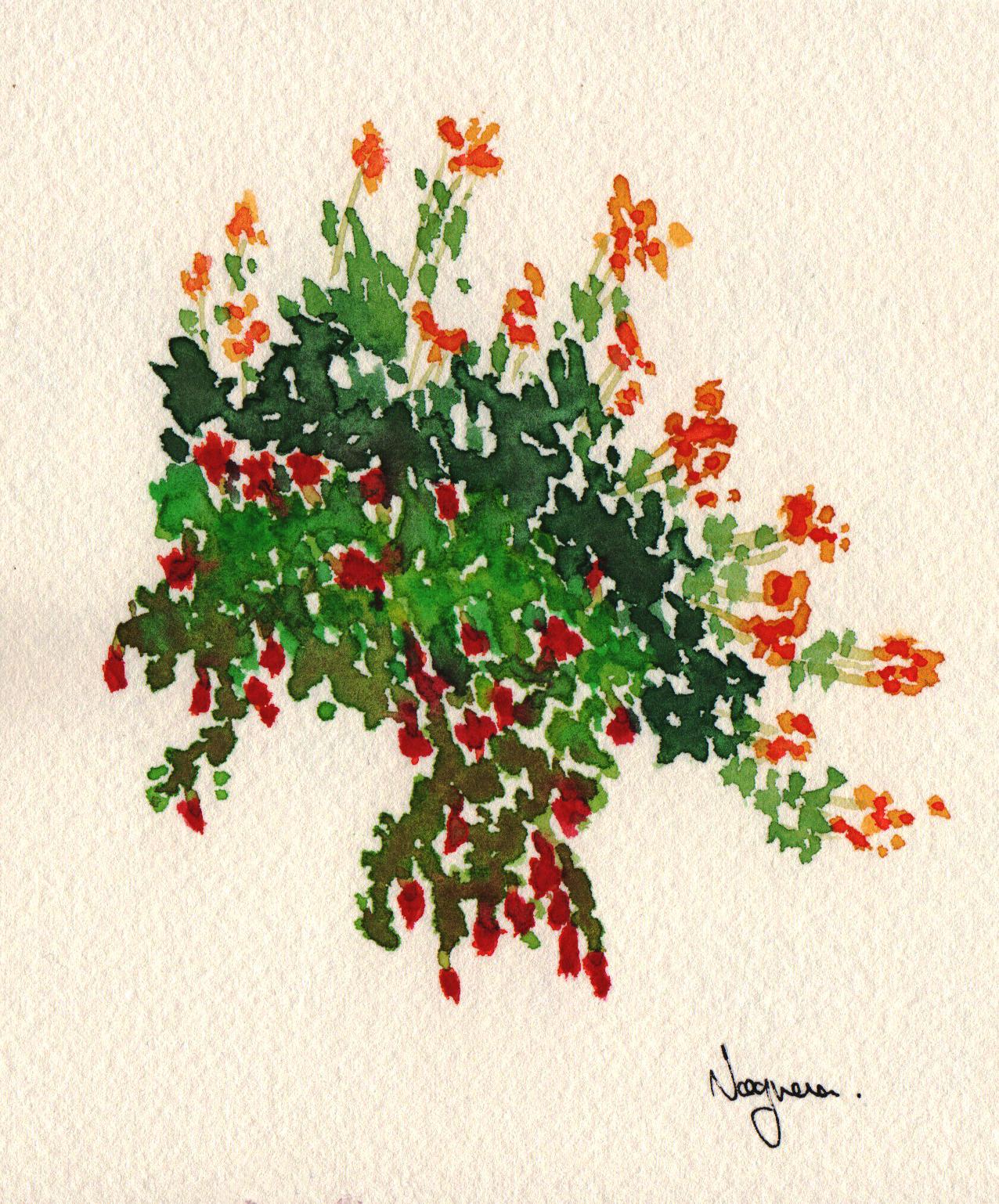 GUEST DOODLEWASH: Tiny Flowers