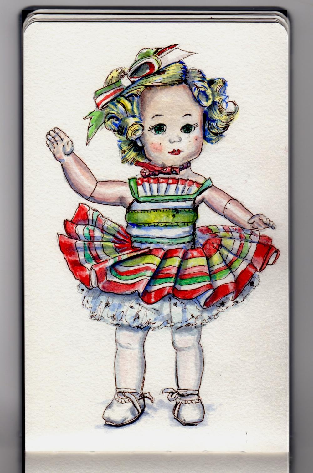 Holiday Doll Doodlewash