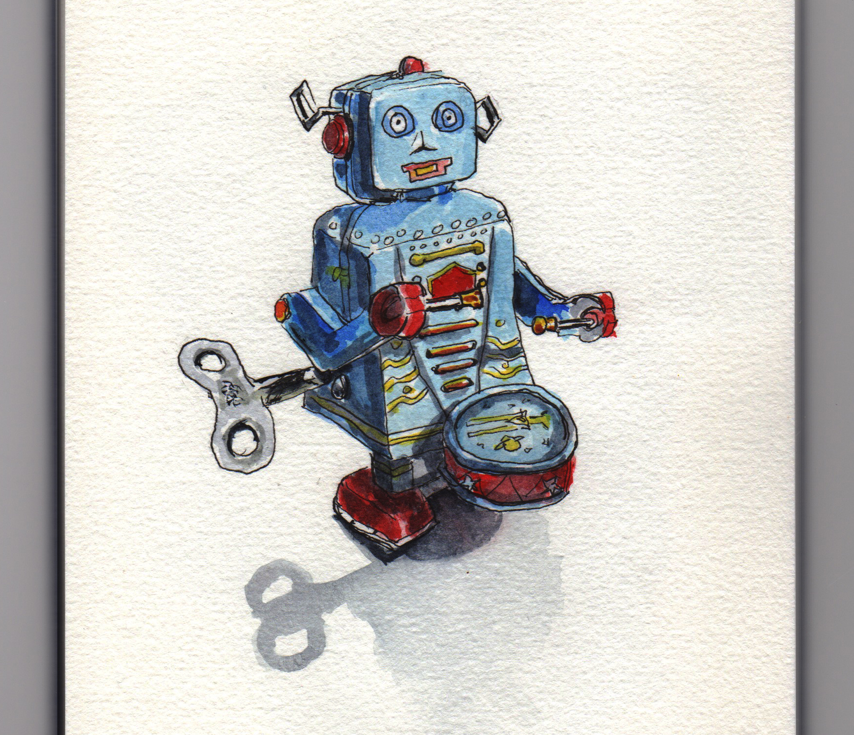 Tiny Toy Robot