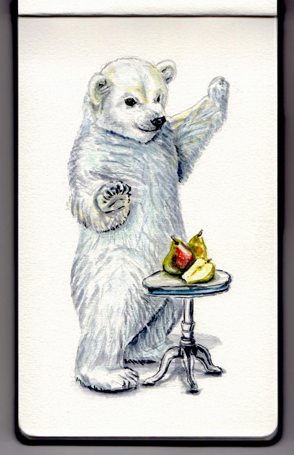 Polar Bear & Comice Pears