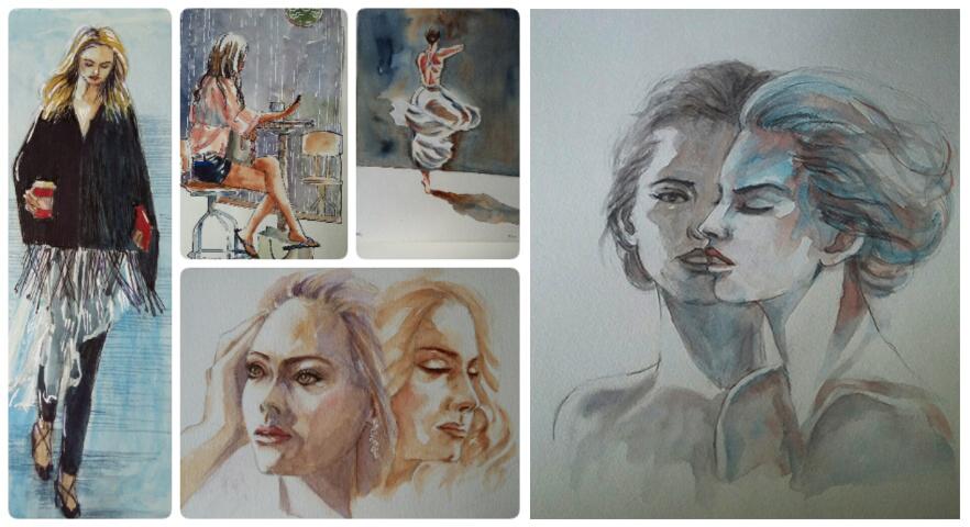 Doodlewashes by Tamara de Fretes