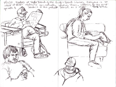 Sketches by Laurie Moorhead