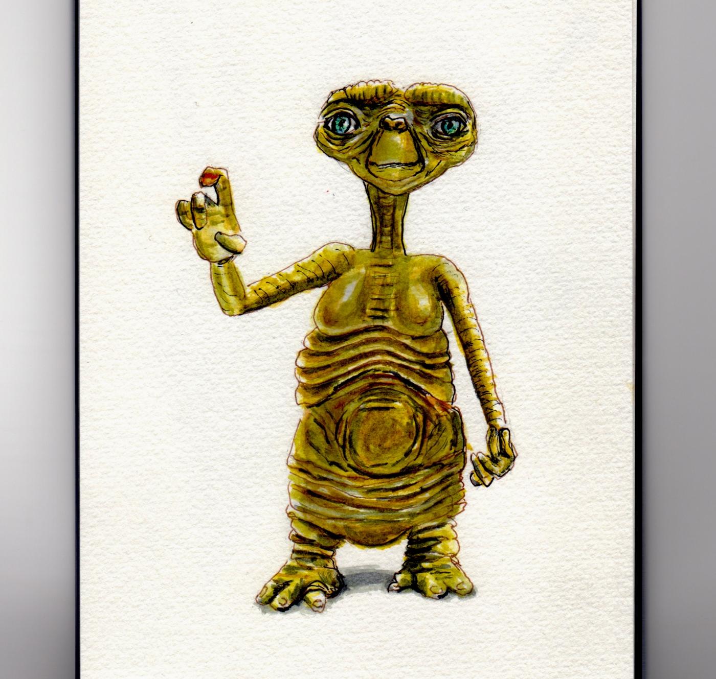 E.T. the Extra-Terrestrial Doodlewash