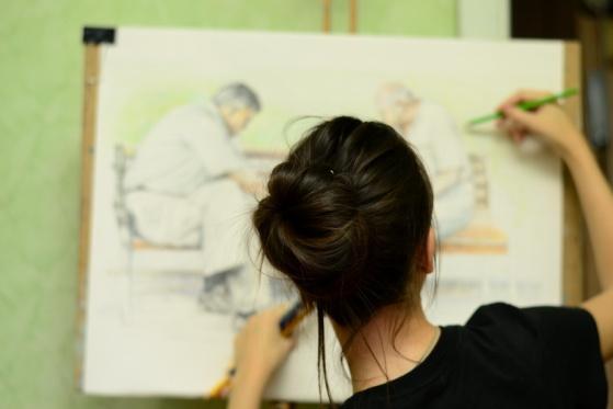 Katie Lokotska Painting