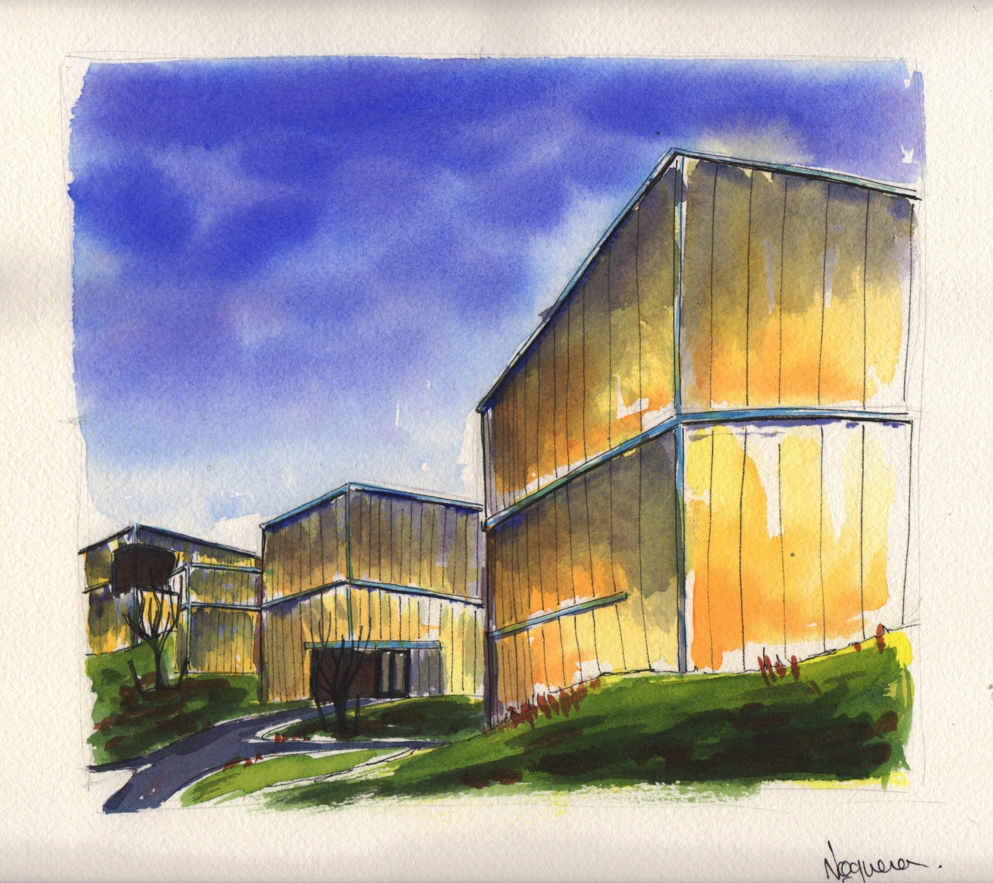 Nelson-Atkins Museum of Art - Doodlewash by Philippe Noguera