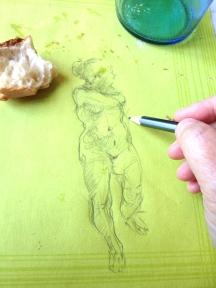 Sketch by Elizabeth Hutchinson