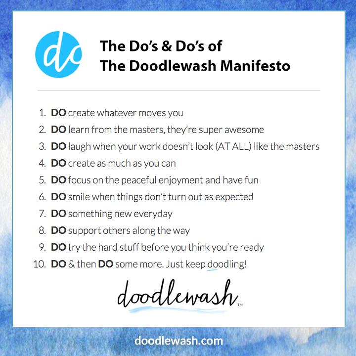 The Doodlewash Manifesto