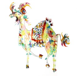 Camel Doodlewash by Virginia González