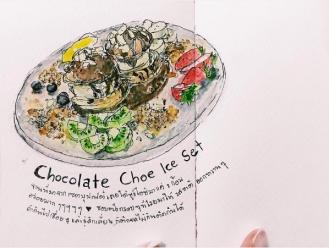 Ba Ba Bin - บาบาบินแค่อยากวาด - Doodlewash of Chocolate Choe Ice Set