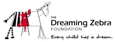 The Dream Zebra Foundation Logo - Donate art supplies to celebrate World Watercolor Month July 2016 worldwatercolor.com
