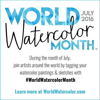 World Watercolor Month July 2016