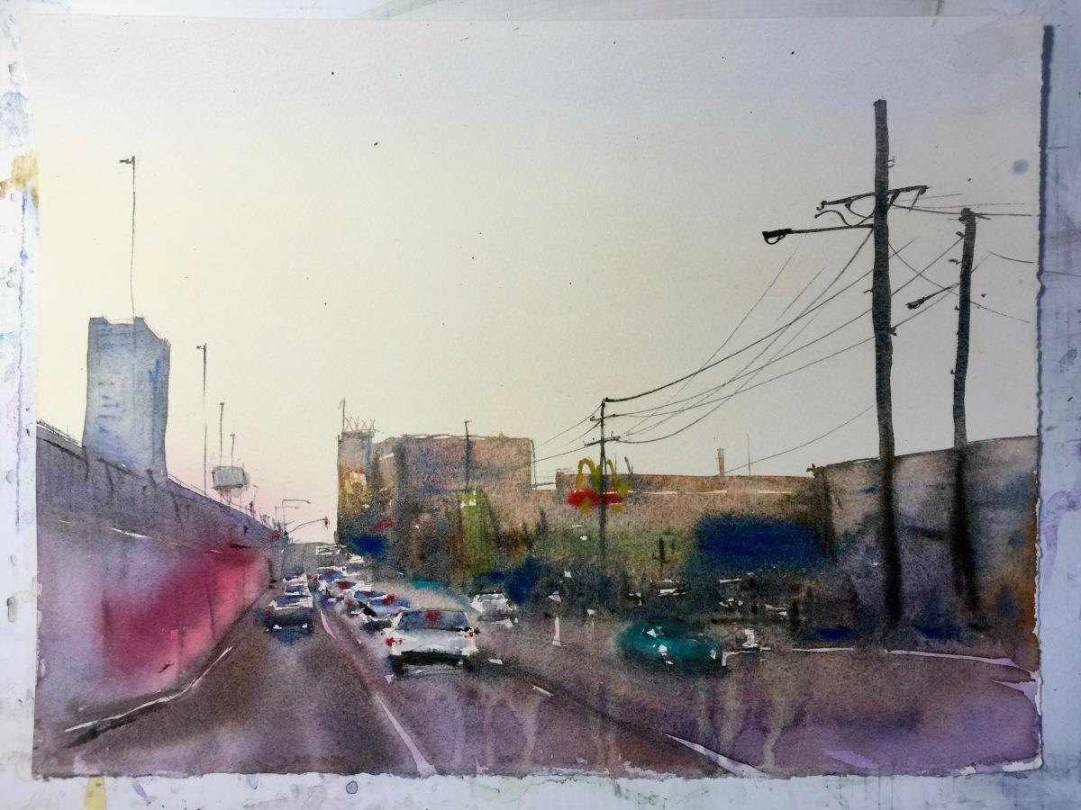 Asuka Kagawa Watercolor Process Step 6