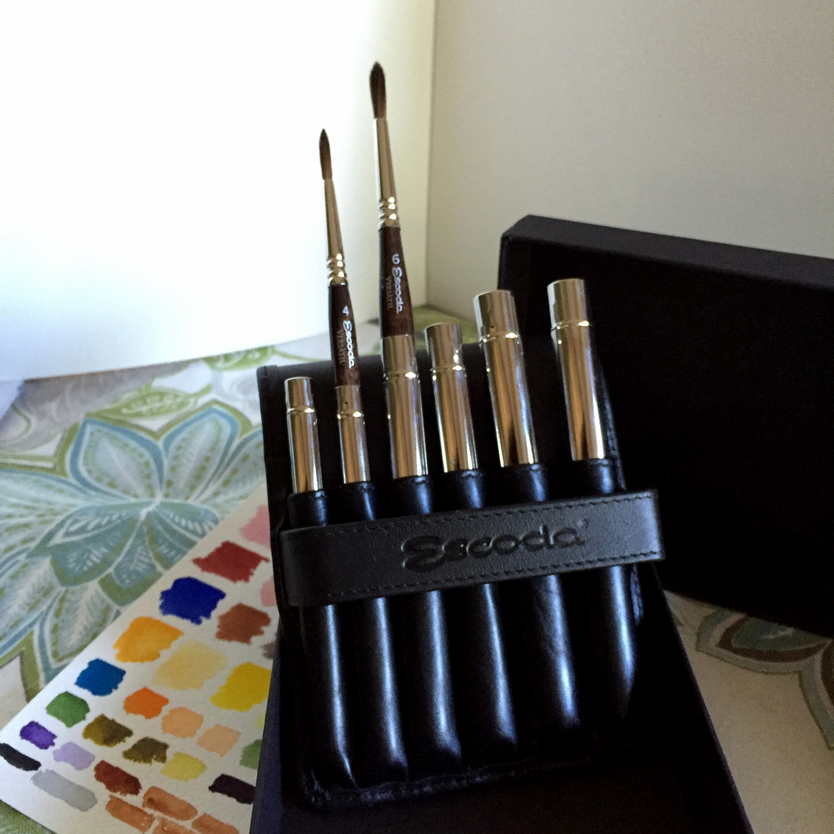 Escoda VERSÀTIL travel brushes set