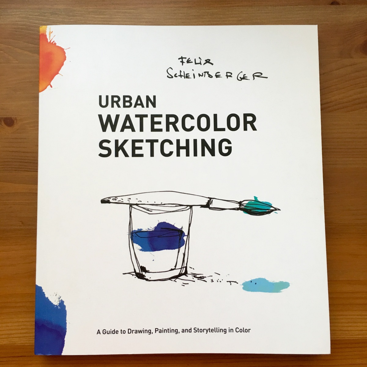 Urban Watercolor Sketching by felix scheinberger