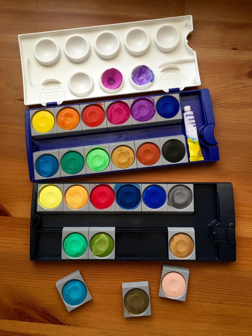 perlikan opaque watercolors 24 set